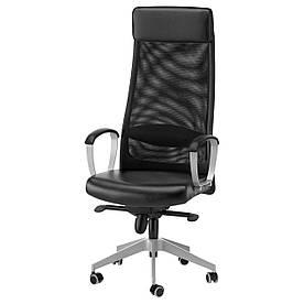 IKEA MARKUS (401.031.00) Рабочий стул, серый Vissle