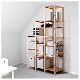 IKEA IVAR (190.314.31) 3 секції/полиці, сосна