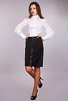 """Женская юбка """"РУБИНА"""", цвет: черный Артикул: 0053-01 ( В.О.Г.), фото 1"""