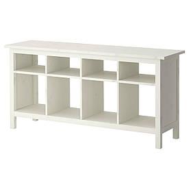IKEA HEMNES (002.518.14) Скамья- стол черный фон