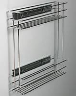 Стелаж карго 200 мм хром боковой