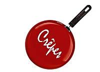 88272 Сковорода блинная Crepe красная 26 см Granchio