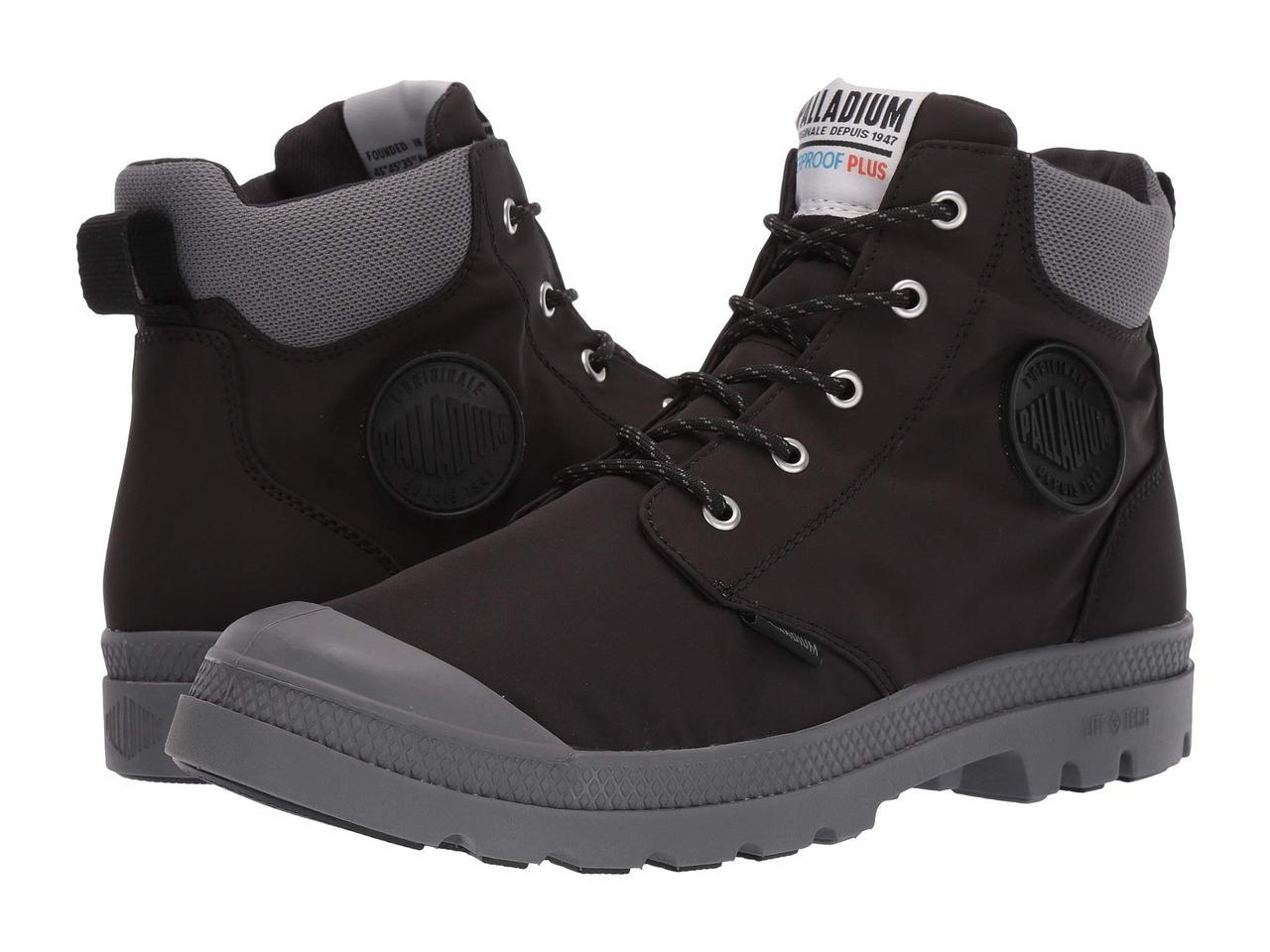 Ботинки Сапоги (Оригинал) Palladium Pampa Lite Cuff WP Black ... df40c679c0775