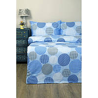 Постельное белье Lotus Ranforce - Naomi голубой семейное