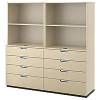 IKEA GALANT (391.849.51) Шкаф для документов, серый