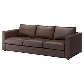IKEA VIMLE (992.068.89) Тримісний диван, Farsta, темно-синій