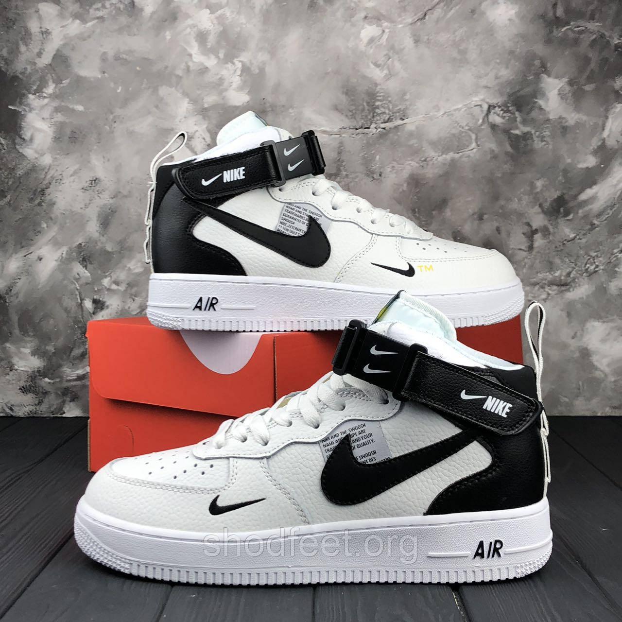 Кроссовки Nike Air Force 1 White Black