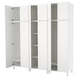 IKEAATSA (792.485.88) гардероб/Шафа, білий, білий білий
