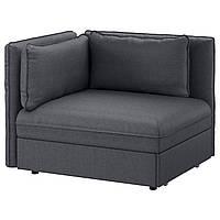 IKEA VALLENTUNA (391.498.87) Кресло с кроватью и спинкой
