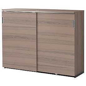 IKEA GALANT (303.380.81) Шафа з розсувними дверима, сірий