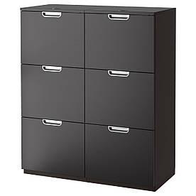 IKEA GALANT (291.845.84) Шафа для документів, сірий