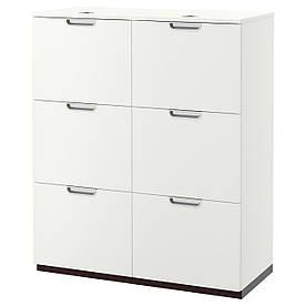 IKEA GALANT (391.845.88) Шафа для документів, сірий