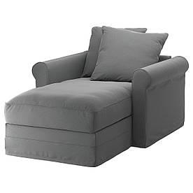 IKEA GRONLID (192.560.29) Шезлонги, Inseros світло-блакитний