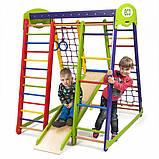 Детский спортивный комплекс для квартиры «Акварелька мини», фото 9