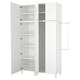 IKEAATSA (392.485.90) гардероб/Шафа, білий, білий білий