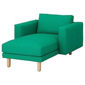 IKEA NORSBORG (392.398.02) Шезлонг, Финнста білий