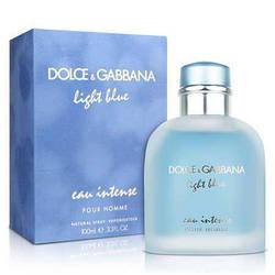 Мужские духи в стиле Dolce & Gabbana Light Blue eau Intense pour home edt 100ml
