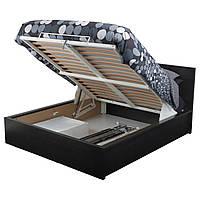 IKEA MALM (302.498.72) Кровать с контейнером, черная