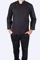 Китель для повара дизайнерский, униформа для повара, индивидуальный пошив, все размеры