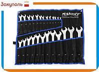 Ключи рожково-накидные набор 25 шт (6-28,30,32) MASTIF