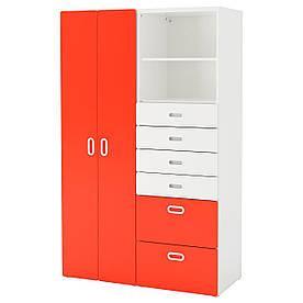 IKEA STUVA / FRITIDS (292.764.61) гардероб/Шафа, білий, білий