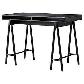 IKEA SPANST (003.985.85) Столешница с опорами, чёрная
