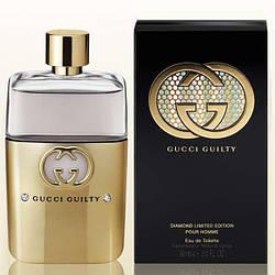 Мужские духи в стиле Gucci Guilty Pour Homme Diamond Limited Edition (edt 90ml)