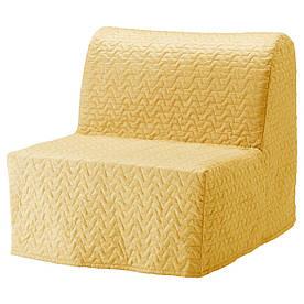IKEA LYCKSELE HAVET (391.341.45) Складной стул, Ebbarp черный/белый