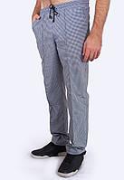 Мужские серые брюки в клетку