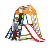 Детские шведские стенки для дома KindWood Color Plus 3, фото 2
