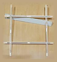 Рамка регулируемая для натяжки батика 60х60см в тубусе.