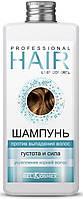 Шампунь против выпадения волос густота и сила укрепление корней волос
