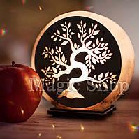 Соляная лампа Дерево Золотое, ночник HealthLamp 3 кг
