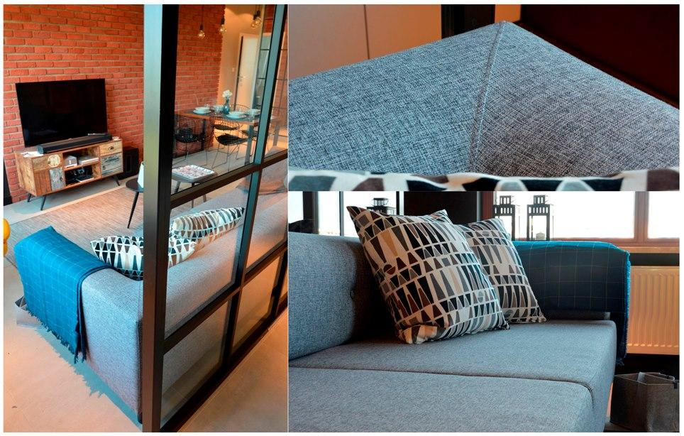 Комплект мягкой мебели - Диван для гостиной комнаты, Кровать в спальню, Детская кровать