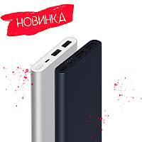 ОРИГИНАЛ | ГАРАНТИЯ Внешний портативный аккумулятор Xiaomi Mi Power Bank 2S 10000mAh with 2USB Чёрный/Серебро, фото 1