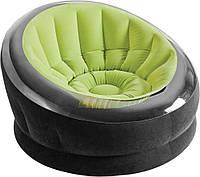 Intex 68581, надувное кресло, зеленое, фото 1