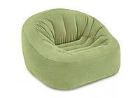 Intex 68576, надувное кресло, зеленое, фото 1