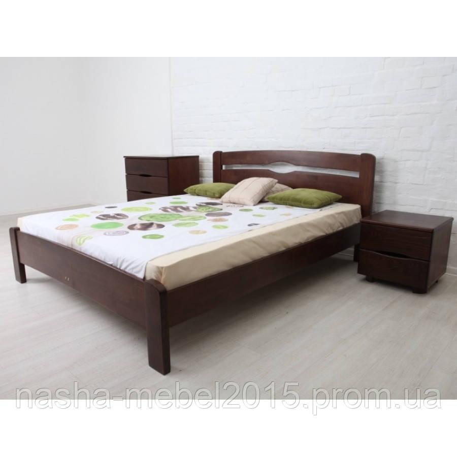 Кровать Полуторная Деревянная Каролина 1,6 без изножья