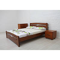 Односпальная Кровать Деревянная  Каролина 1,2 с изножьем
