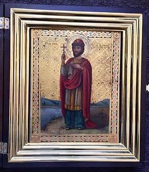 Ікона князь Борис 19 століття, фото 2