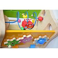 """Деревянная игрушка """"Большой Бизикуб"""" бизиборд, фото 4"""