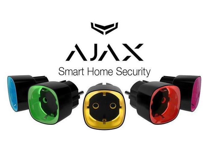 Радиоуправляемая умная розетка Ajax Socket