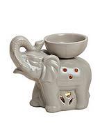 Аромалампа Слон цветная керамика 16X8X14см 10020452