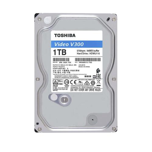 "Жесткий диск для компьютера 3.5"" 1 Тб/Tb Toshiba V300, SATA3, 64Mb, 5700 rpm (HDWU110UZSVA), винчестер hdd"