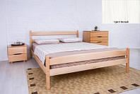 Кровать односпальная деревянная Ликерия с изножьем 90х200, цвет белый