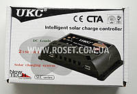 Контроллер для солнечной панели - UKC Intelligent solar charge controller SLC-20A, фото 1