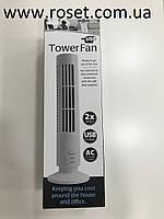 Настольный портативный вентилятор Tower Fan USB, фото 1