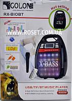 Проигрыватель-колонка с микрофоном - Golon RX-810BT X-BASS 2000W