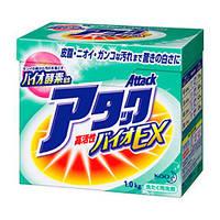 Концентрированный стиральный био-порошок без фосфатов 1кг KAO Attack Bio EX