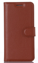Кожаный чехол-книжка для Xiaomi Mi5  Mi 5  Mi5 Pro коричневый